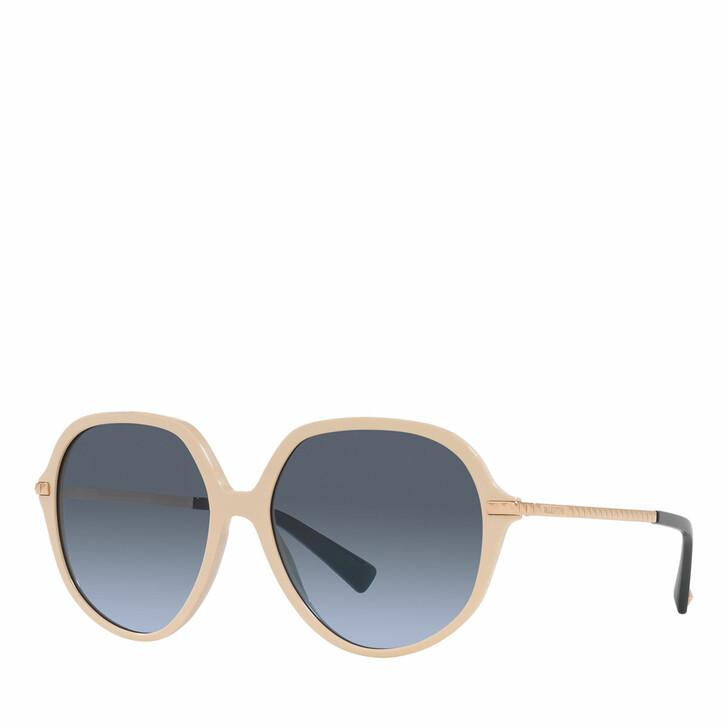 sunglasses, Valentino Garavani, Woman Sunglasses 0VA4099 Light Brown