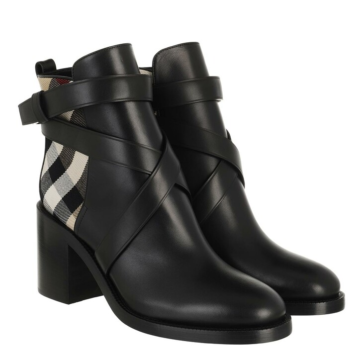 Schuh, Burberry, Ankle Boots Vintage Check Archive Beige
