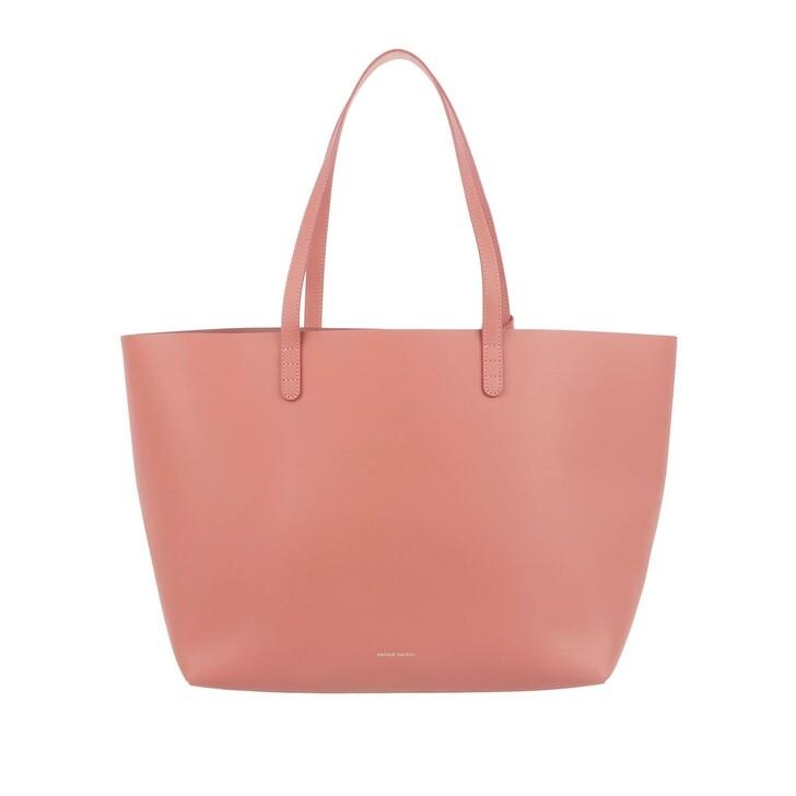 bags, Mansur Gavriel, Large Tote Shopping Bag Leather Blush