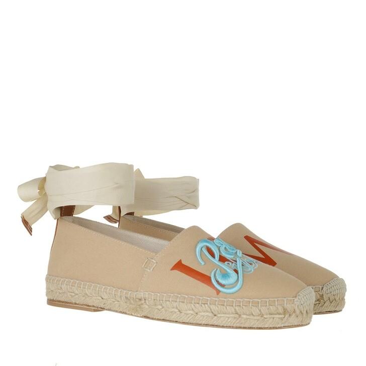 shoes, Loewe, Espadrilles Beige Orange