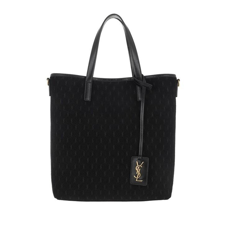 Handtasche, Saint Laurent, Handle Bag Leather Nero