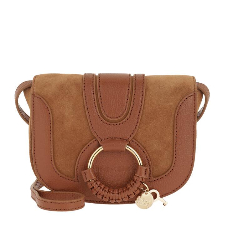 bags, See By Chloé, Hana Mini Bag Caramello