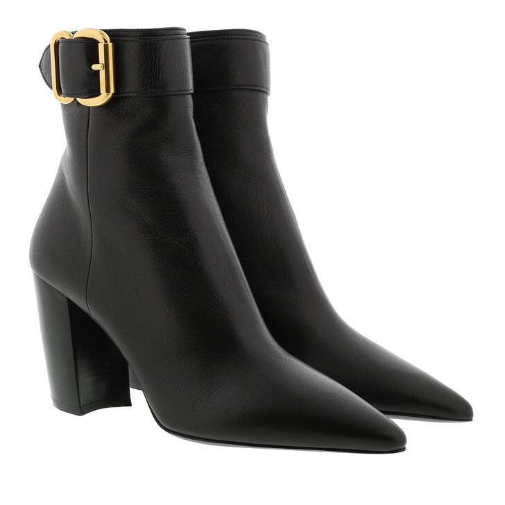 Schuh, Prada, Ankle Boots Leather Black