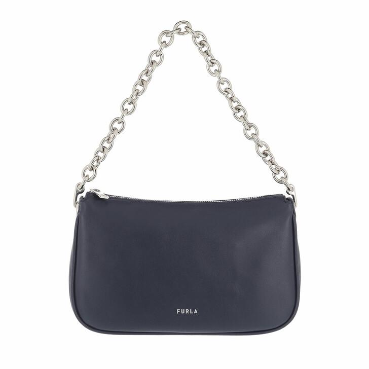 bags, Furla, Furla Moon S Shoulder Bag Blu D
