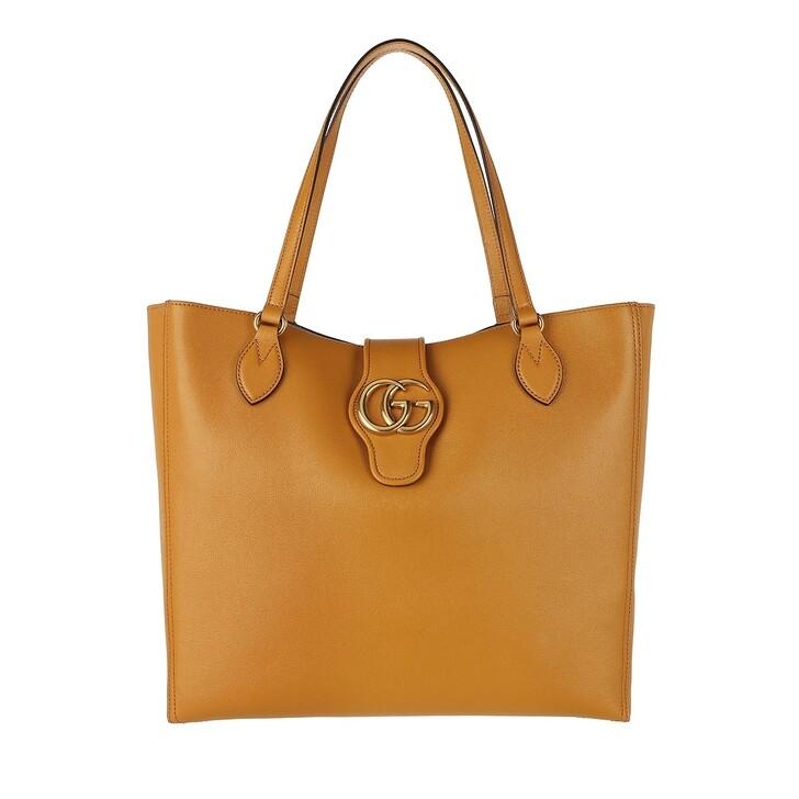 bags, Gucci, Dhalia Tote Bag Leather Sun Oil