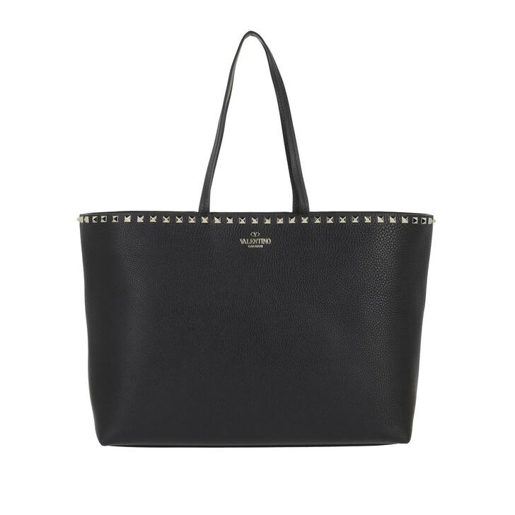 Handtasche, Valentino, Garavani Rockstud Tote Bag Black