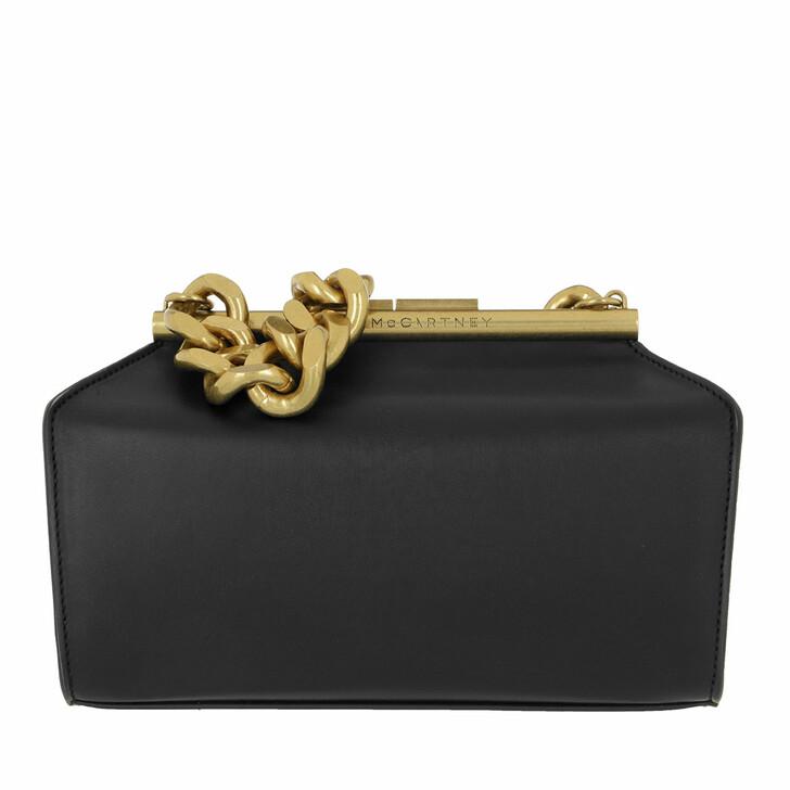 Handtasche, Stella McCartney, Medium Crossbody Bag Leather Black