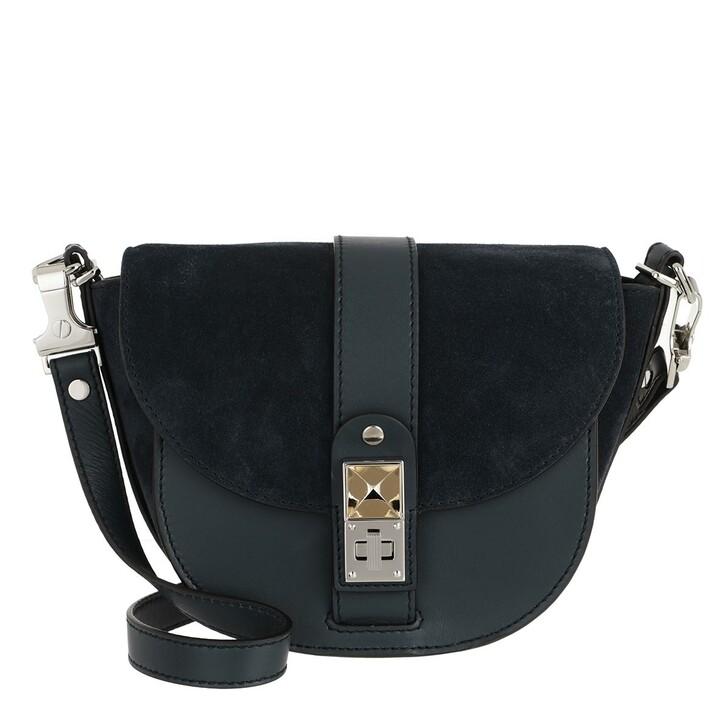 Handtasche, Proenza Schouler, PS11 Saddle Small Crossbody Dark Navy