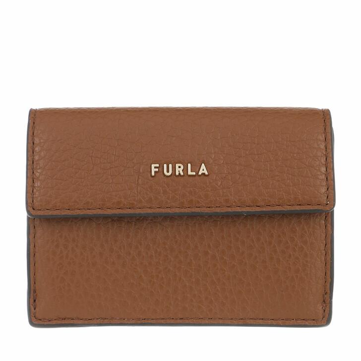 wallets, Furla, Furla Babylon S Compact Wallet Cognac