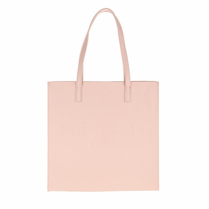 Handtasche, Ted Baker, Soocon Crosshatch Large Icon Bag Pink