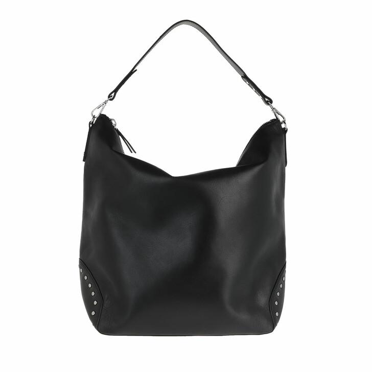 Handtasche, Becksöndergaard, Veg Studded Linea Bag Black