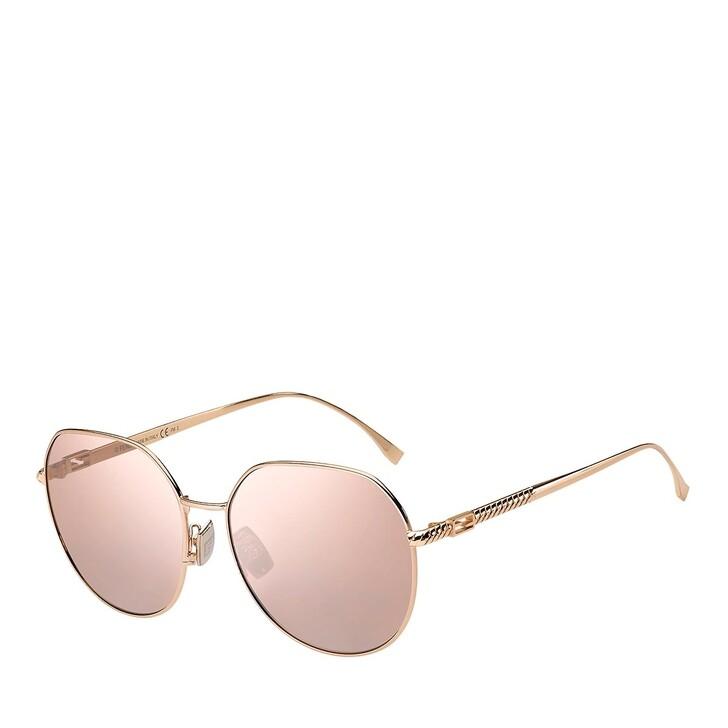 sunglasses, Fendi, FF 0451/F/S GOLD COPPER