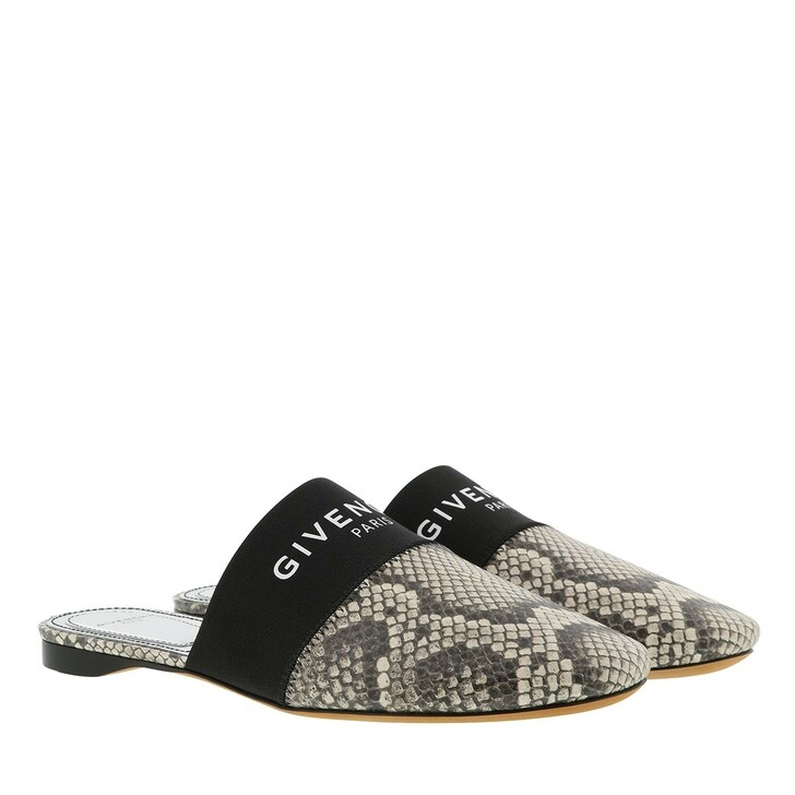 Schuh, Givenchy, Printed Mules Phyton