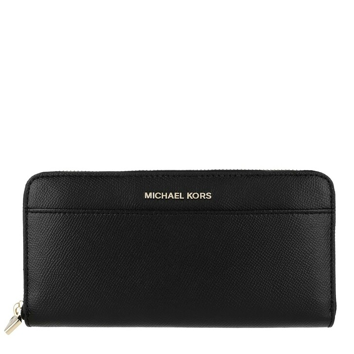 Geldbörse, MICHAEL Michael Kors, Pocket Continental Wallet Black