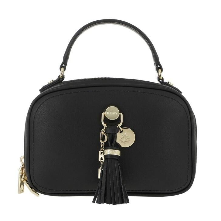 Handtasche, DKNY, Leonti Top Handle Bag Black/Gold