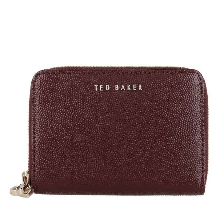 wallets, Ted Baker, OAKLYY Multi Charm Small Zip Around Wallet DP-PURPLE