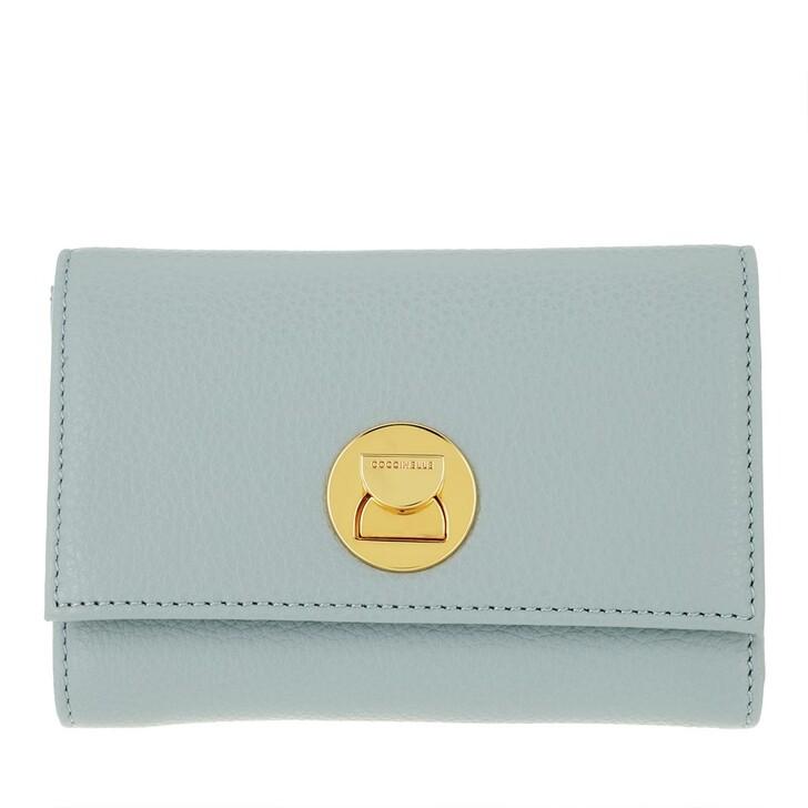 wallets, Coccinelle, Wallet Grainy Leather  Cloud