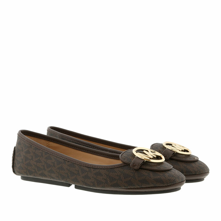 Schuh, MICHAEL Michael Kors, Lillie Moccasin Brown