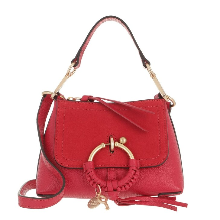 bags, See By Chloé, Joan Crossbody Bag Mini Red Flame