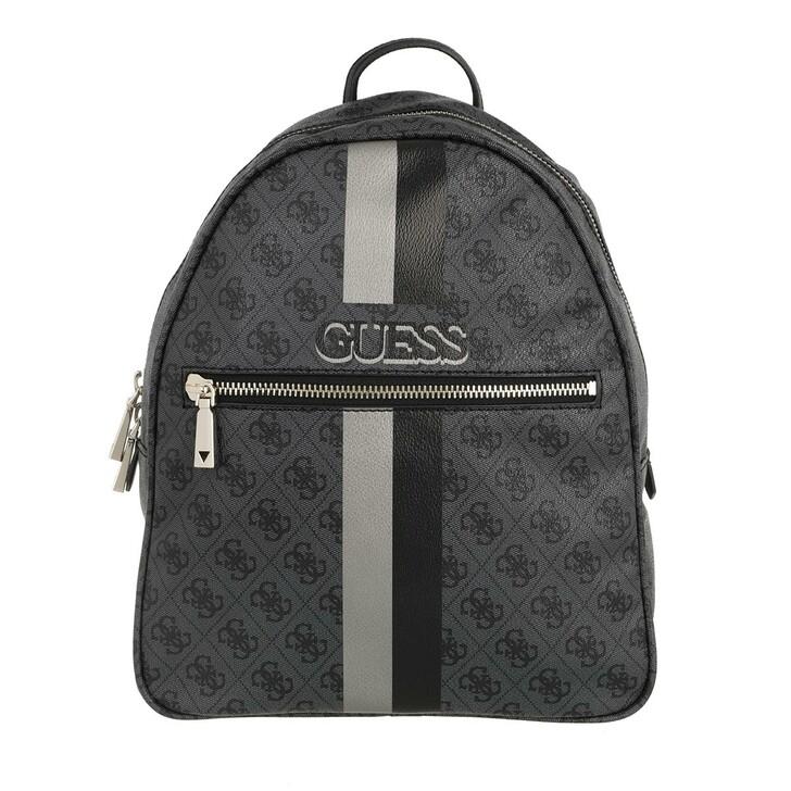 bags, Guess, Vikky Backpack Coal/Black