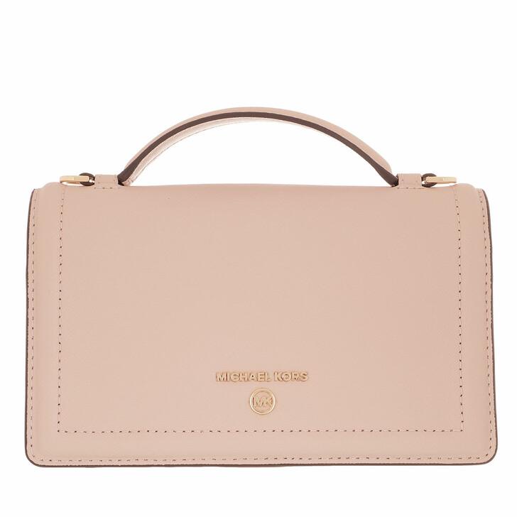 Handtasche, MICHAEL Michael Kors, Jet Set Small Phone Xbody Soft Pink