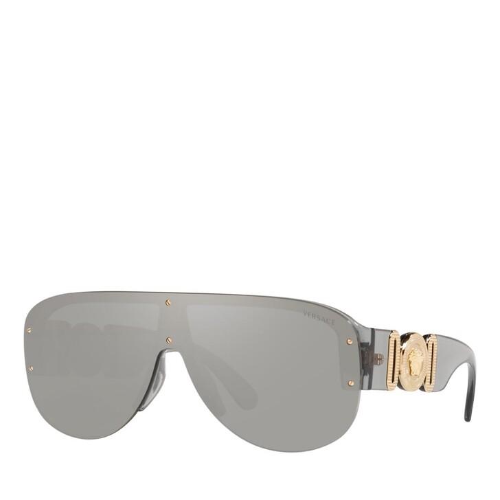 Sonnenbrille, Versace, SPRITZGUSS MAN SONNE TRANSPARENT GREY