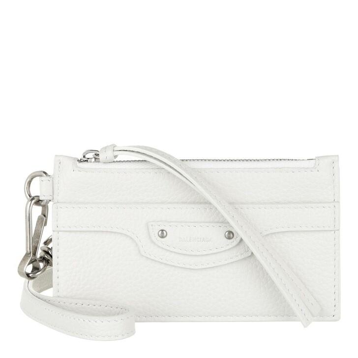wallets, Balenciaga, Wallet White
