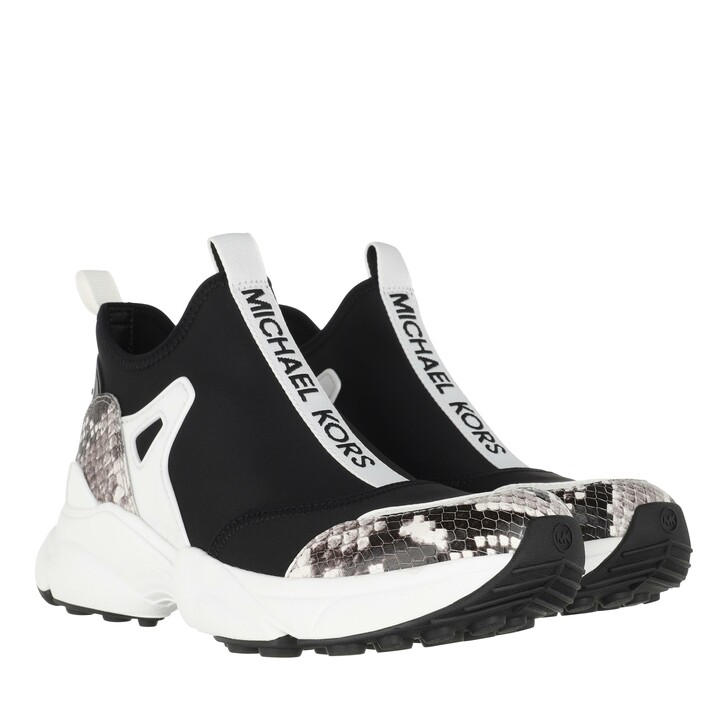 Schuh, MICHAEL Michael Kors, Willow Slip On Sneakers Black Optic White