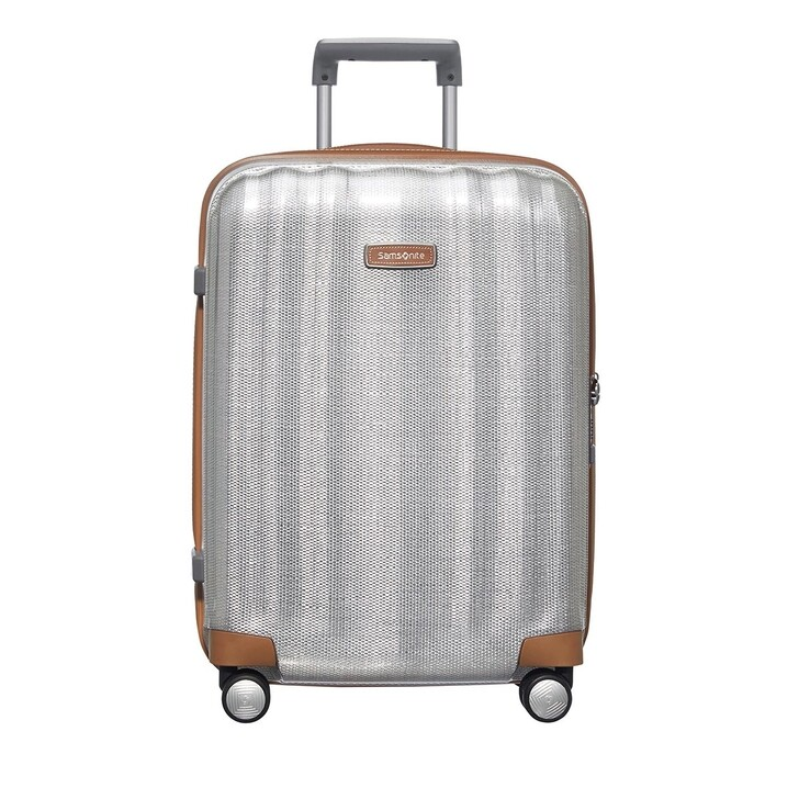 Reisetasche, Samsonite, Lite Cube Trolley Silver