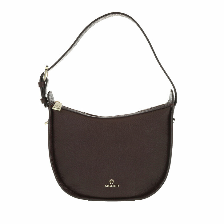Handtasche, AIGNER, Ivy Crossbody Bag Java Brown