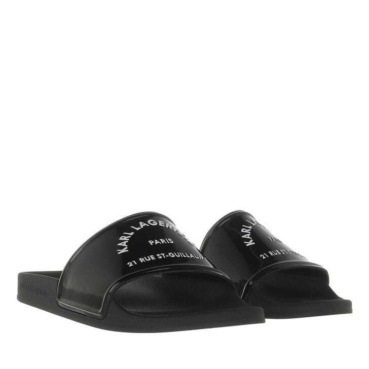 shoes, Karl Lagerfeld, KONDO Shine Maison Karl Black Rubber