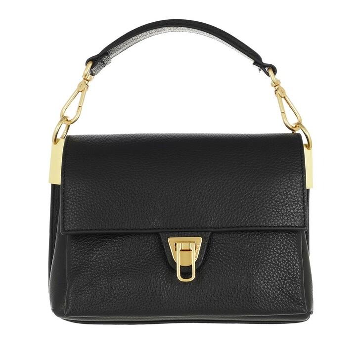 bags, Coccinelle, Marvin Desir Handbag Grainy Leather  Noir