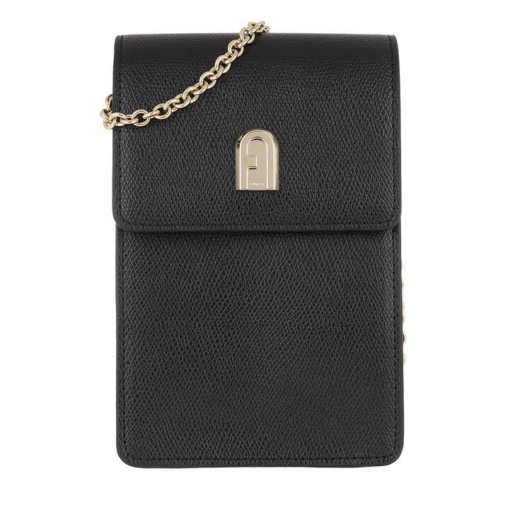 Handtasche, Furla, 1927 Mini Vertical Crossbody Nero