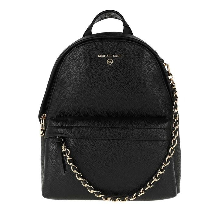 Reisetasche, MICHAEL Michael Kors, Medium Backpack Travel Item  Leather Black
