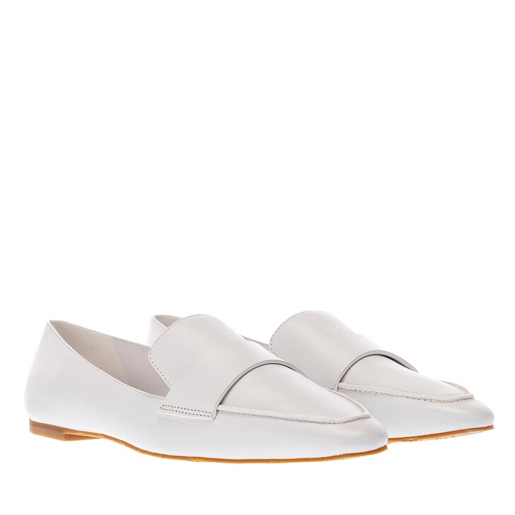 Schuh, What For, Sandi Loafers Soft Leather White
