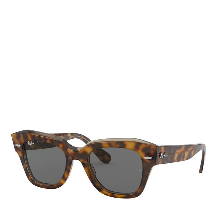 sunglasses, Ray-Ban, Unisex Sunglasses Icons 0RB2186 Havana On Transparent Light Brown