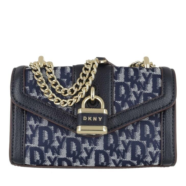 bags, DKNY, Ella Mini Shoulder Flap Navy