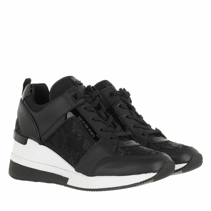 shoes, MICHAEL Michael Kors, Georgie Trainer Black