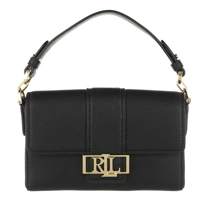 Handtasche, Lauren Ralph Lauren, Spencer 21 Shoulder Small Black