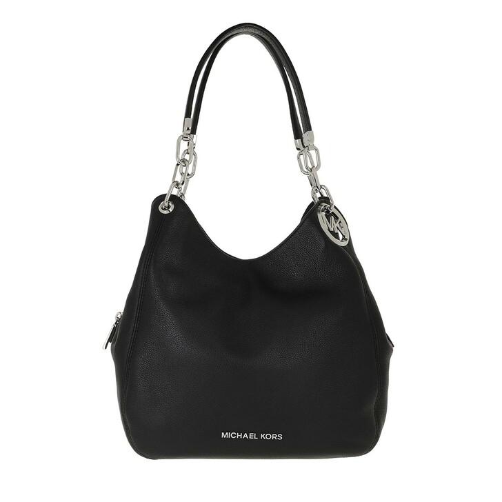 Handtasche, MICHAEL Michael Kors, Large Chain Shoulder  Black