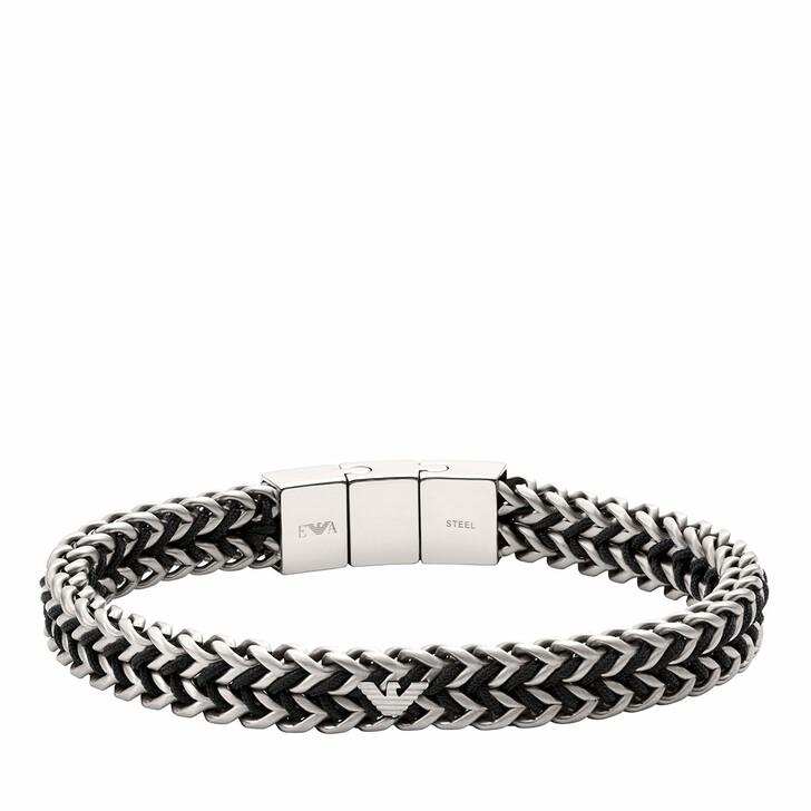 bracelets, Emporio Armani, Men's Stainless Steel Chain Bracelet EGS2816040 Silver