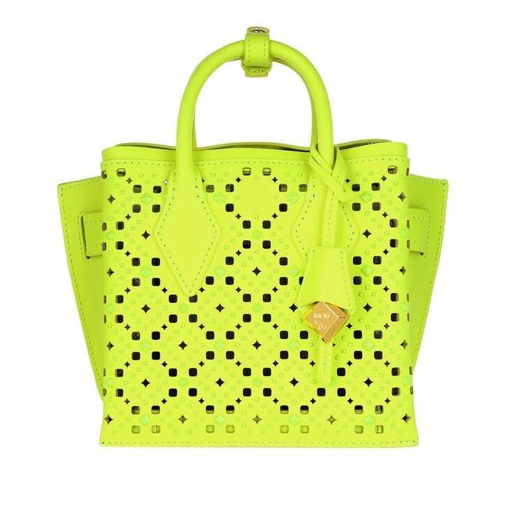 bags, MCM, Neo Milla Tote Mini Golden Mango