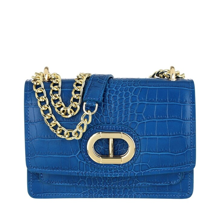 Handtasche, Dee Ocleppo, Dee Medium Crossbody Blue