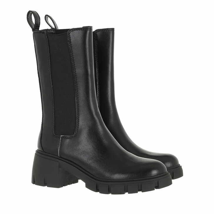 shoes, Steve Madden, Aq-Hype Boot Black Leather