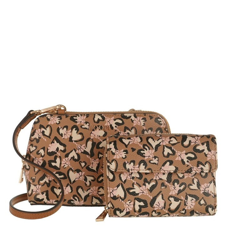 Handtasche, JOOP!, Cortina Amore Valeria Gift Box Cognac