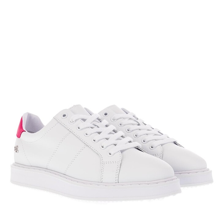 Schuh, Lauren Ralph Lauren, Angeline Ii Sneakers Athletic Shoe Rl White/Bright Pink