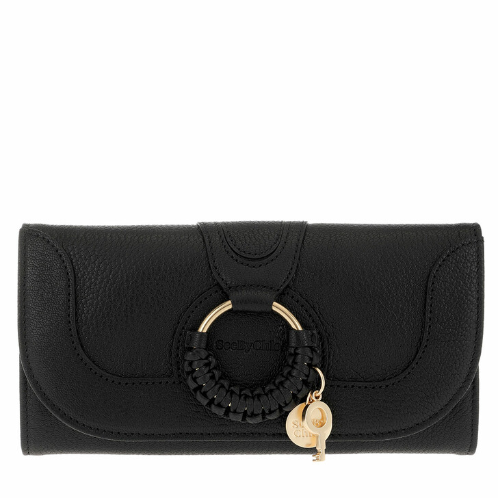 Handtasche, See By Chloé, Hana Wallet Large Black