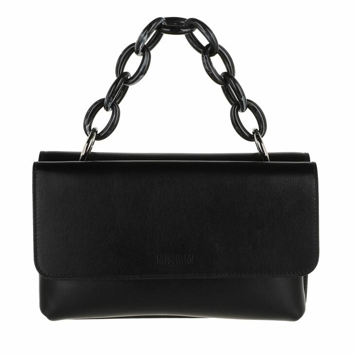 bags, MSGM, Borsa Donna Black