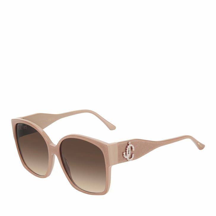 Sonnenbrille, Jimmy Choo, NOEMI/S Nude Glitter