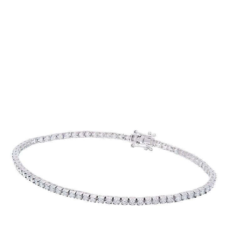 Armreif, BELORO, 1,6ct Diamond Tennis Bracelet White Gold